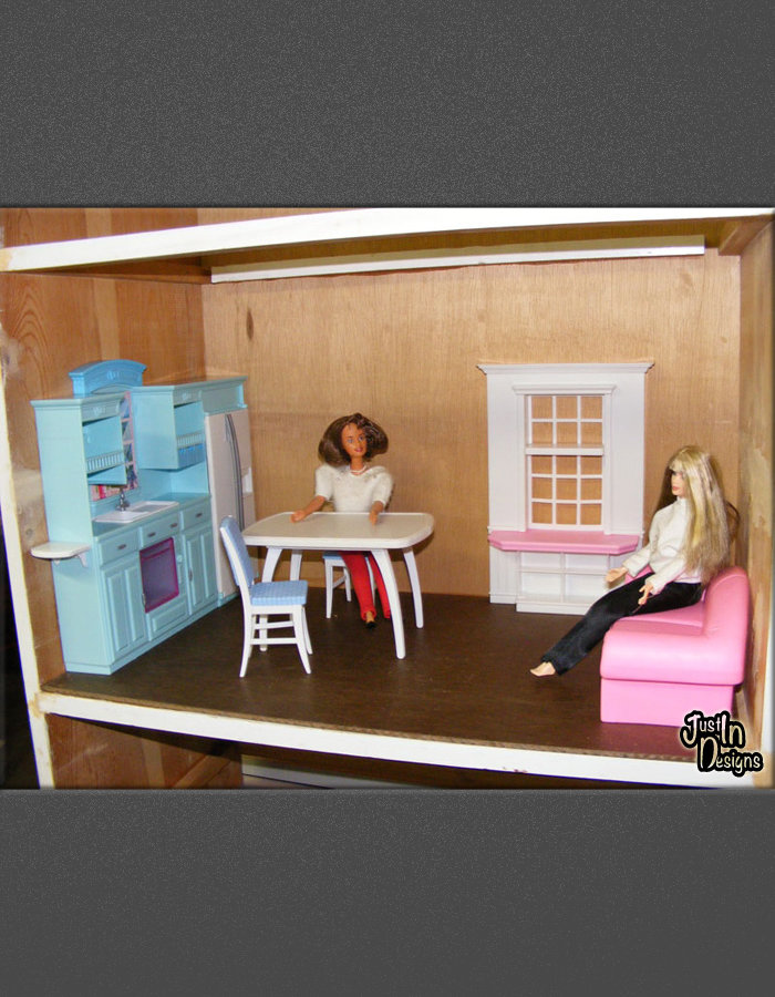 doll furniture recycled materials. Build A Barbie Doll House Using Recycled Dresser Furniture Materials